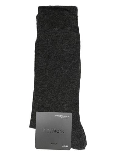 NetWork 2'li Çorap Antrasit